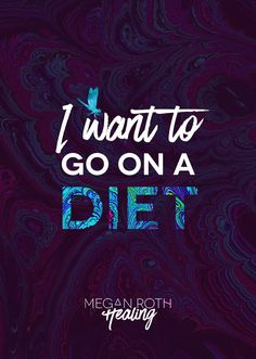 Tonight I don't have a witty blog-post title or perfect picture to go with it.Tonight I just want to go on a diet. I just want to lose 15 or 20 pounds. That's all. Nothing drastic. Jus…