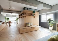 Two Apartments In Modern Minimalist Japanese Style (includes...