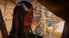 (A/N: Elaith Lavellan in Dragon Age: Inquisition)