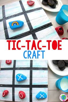 Basketball, baseball, soccer, Frisbee, hoola hoops, golf and biking! What do they all have in common? Summer activities for kids! Although the list is extensive, there usually comes a time when your kids tire of their favorite outdoor activities. Easy Crafts for Kids #crafts #tictactoe #kidcrafts #diycrafts #lifeovercs