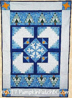 Winter Silence Wall Hanging PPP003-EIN