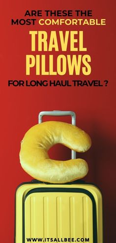 An essential item for travel. Get tips on the best travel neck pillows for long haul flights, best neck support, memory foam, inflatable, face cradle designs perfect for comfortable sleeping on a flight or bus. Best Neck Pillow, Neck Pillow Travel, Travel Pillows, Road Trip Packing, Road Trip Essentials, Packing List For Travel, Packing Lists, Bus Travel, Travel Music