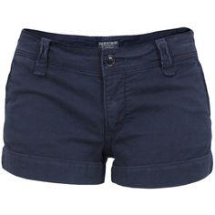 Polo Jeans Ralph Lauren Laurie Navy Shorts ($110) ❤ liked on Polyvore featuring shorts, bottoms, short, pants, short shorts, polo ralph lauren, polo ralph lauren shorts, zipper pocket shorts and stretchy shorts