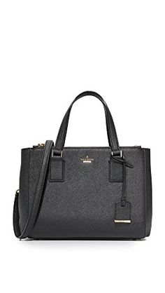 Kate Spade New York Women's Cameron Street Teegan Satchel: A structured Kate Spade New York satchel in sturdy, saffiano leather. Large zip pockets frame the lined, interior. Top handles and optional shoulder strap. The Sak Handbags, Kate Spade Handbags, Kate Spade Purse, Tumi, Kendall And Kylie, Satchel Purse, Satchel Handbags, Leather Purses, Leather Handbags