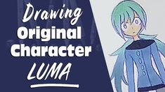 Drawing Anime / Manga Original Characters LUMA YouTube Manga Characters, The Originals, Drawings, Youtube, Anime, Art, Sketch, Anime Shows, Kunst