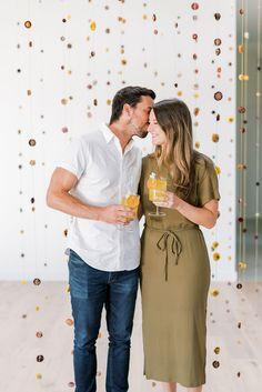 Covid Friendly Bridal Shower Citrus Libations Sunset Blooms Wedding Trends, Wedding Designs, Wedding Blog, Wedding Photos, Wedding Ideas, Bridal Shower Appetizers, Sunset Palette, Chic Bridal Showers, Sunset Colors