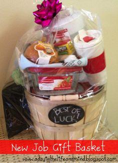 Best of Luck - New Job Gift Basket