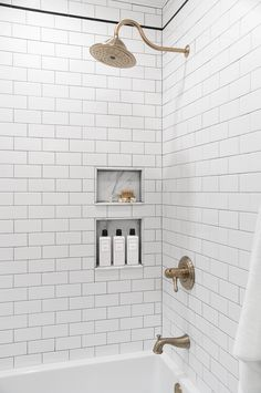 10 Tile Projects & Tutorials from the Past - Room For Tuesday Interior Design Trends, Bathroom Interior Design, Home Interior, Restroom Design, Interior Plants, Mold In Bathroom, Small Bathroom, Master Bathroom, Washroom