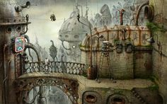 Machinarium_ concept game