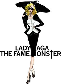 The Lady Gaga Eras - The Fame Monster - by Armand Mehidri