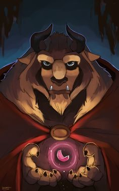 """for who.... by suikuzu.deviantart.com on @deviantART - The Beast from """"Beauty and the Beast"""""""