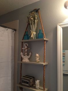 nautical shelving ideas | Via Christina Wilds