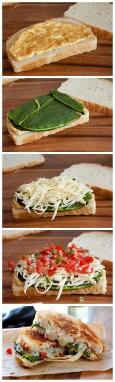 Chile Relleno Grilled Cheese Sandwich