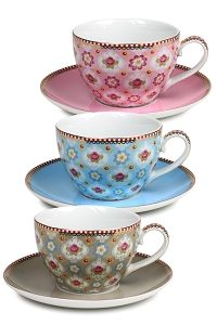 Just one example of the porcelain designs available from Pip Studio, making every sip of tea a delight