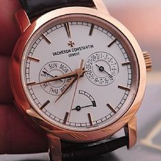 Vacheron Constantin [NEW] Patrimony Day-Date and Power Reserve 85290/000R-9969. Spring Break Special at:- HK$249,000.