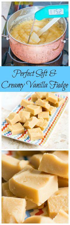 Perfect Soft & Creamy Vanilla Fudge