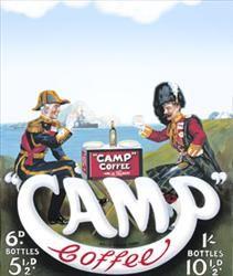 Camp Coffee Sign $40
