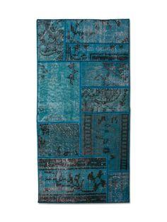 Patchwork Bedrug Blue från MyWorldBazaar hos ConfidentLiving.se