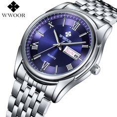 18.99$  Watch now - Wwoor Waterproof Sport Watch Men Luxury Brand Fashion Quartz Watch Luminous Display Casual Men's Watches Clock Relogio Masculino  #shopstyle