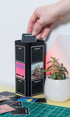 DIY magnet photo / calendar