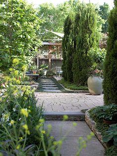 Garden designs on pinterest 77 pins - Creating privacy in backyard ...