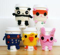 Coffee Cozies... Twinkie Chan