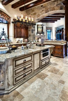 English Traditional - traditional - kitchen - JAUREGUI Architecture Interiors Construction