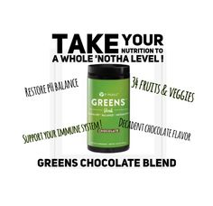 My son who is 10 loves the chocolate greens drinks them everyday with no problem It Works Wraps, My It Works, Green Veggies, Fruits And Veggies, It Works Greens, It Works Global, Defining Gel, Interactive Posts, It Works Products