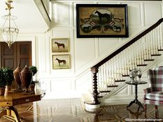 new england estate style decor
