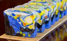 Handmade in Florida: Starry Night Soap - A Tribute to Van Gogh