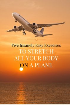 Check out these exercises to stretch all your body on a plane, and find out more at fitvize.com