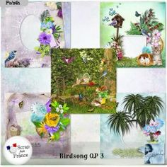Birdsong QP 3 (PU) by Louise