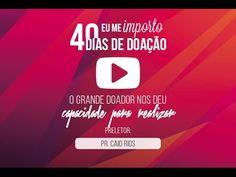 O Grande Doador nos deu capacidade para realizar | Pr. Caio Rios | 16/10/16