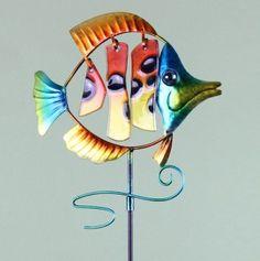 Metal/Glass Fish Stake