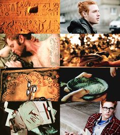 Weasley Bros- Bill, Charlie and Percy