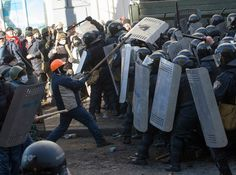 Ukraine protesters clash with police amid tensions over constitution changes Europe News, Riot Police, Kiev Ukraine, Post Apocalypse, Press Photo, Constitution, Revolution, How To Memorize Things, Waves