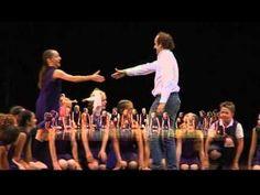 """DO-RE-MI """"Tutti insieme appassionatamente"""" con Christian Ginepro e la scuola di RITMIDANZA(mestre) - YouTube"""
