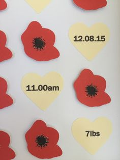 "Image of Poppies - 9"" sq. - Personalisation"