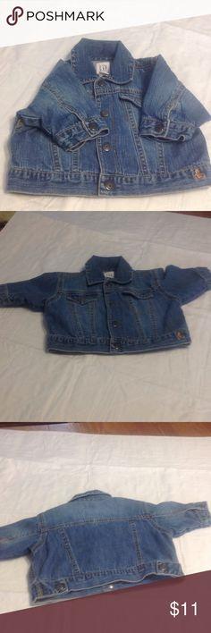 Baby Gap jean jacket Good condition used GAP Jackets & Coats Jean Jackets