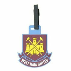 West Ham United FC. Luggage Tag by West Ham United F.C.. $15.90. West Ham United F.C.. Official Licensed Merchandise. Luggage Tag. WEST HAM UNITED F.C. Luggage Tag Official Licensed Product