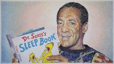 Selected Reading (Sleep Book), 2015 - Colored pencil on paper Cosby Memes, Simply Image, The Cosby Show, Internet Trends, Type Illustration, Bill Cosby, Weird World, Really Funny, Comedians