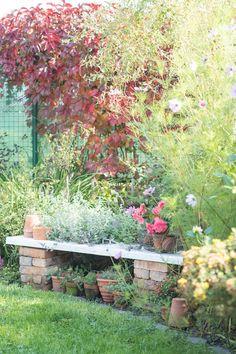 Prairie Charm: DIY garden bench / DIY záhradná lavička