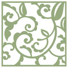 Free SVG File (Sure Cuts A Lot) 03.17.10 – Spring Flourish Square