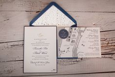 Classic New York City Wedding in Blue & Silver - Photos by Kimberly Coccagnia / Invitations & Day-of Stationery by Fourteen-Forty #fourteenforty #1440nyc #newyorkcitywedding #newyorkwedding #silverfoil #invitations