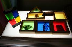 light table ideas for preschool