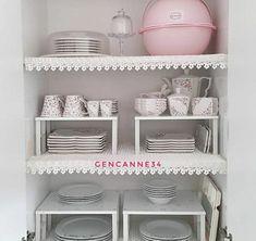 Kitchen Counter Storage, Kitchen Cupboard Organization, Kitchen Pantry Design, Small Space Organization, Home Organization Hacks, Kitchen Cupboards, Organizing Your Home, Kitchen Decor, Household Organization