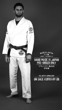 Scramble Made in Japan BJJ Gi Jiu Jitsu Gi, Martial Arts, Chef Jackets, Japan, How To Make, Collection, Fashion, Kimonos, Moda