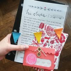 """""""Olivia, this is coming to you!  // @oliviaamr #snailmail #penpal #penfriend…"""