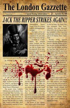 jack the ripper newspaper articles
