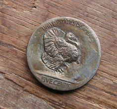 Ben Wells Hobo Nickel Coin Thanksgiving Turkey | eBay